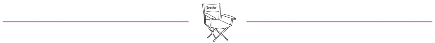 Directors chair sketch