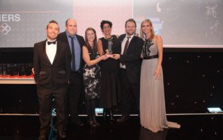 The Sixth Sense Team at the PRCA Awards