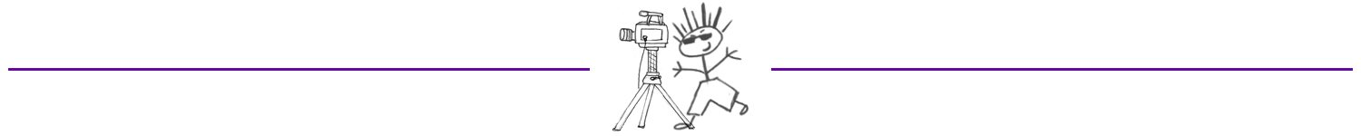 Sketch man and video camera